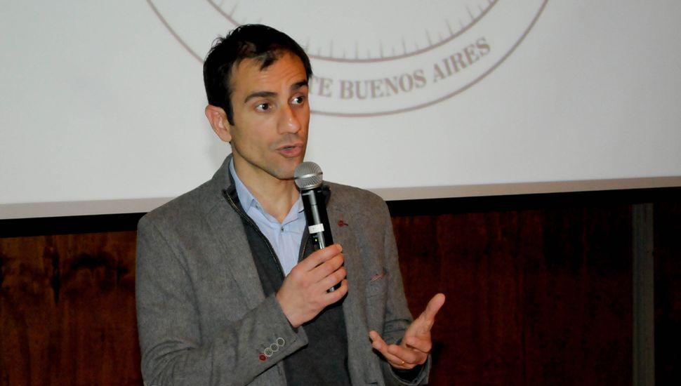 El intendente Pablo Petrecca presentó esta semana el Cluster Salud Junín.