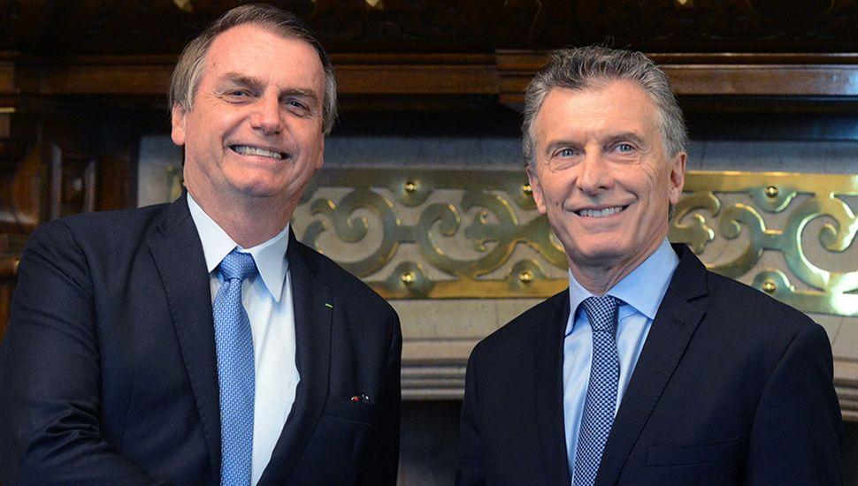 Macri le entregará la presidencia del Mercosur a Bolsonaro