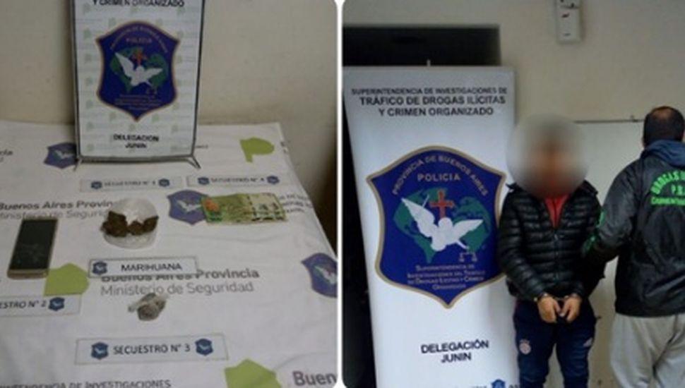 Allanamientos por venta de drogas en Pinto