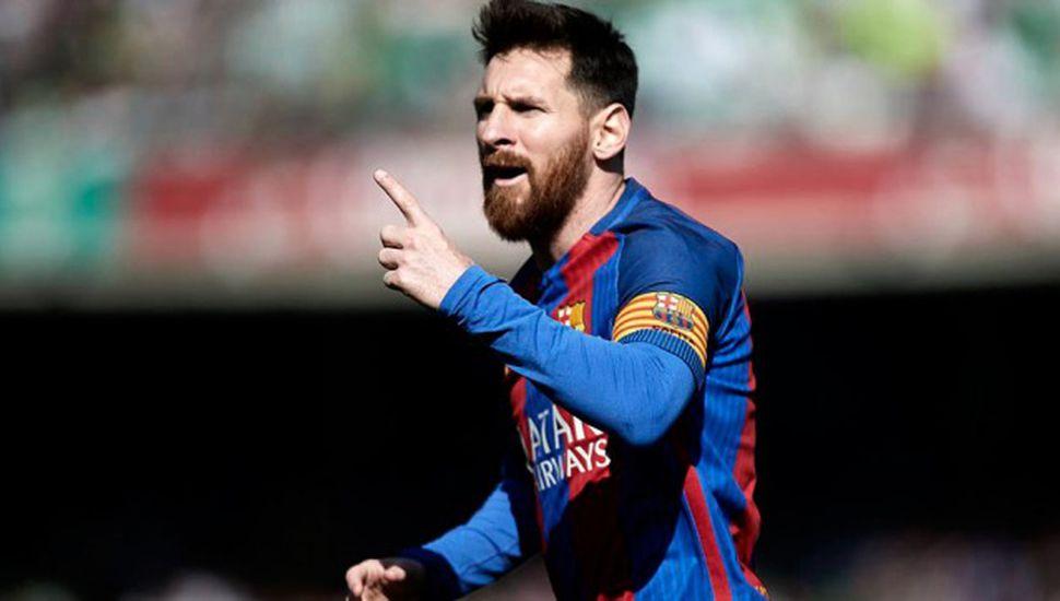 Messi, uno de los tres finalistas del premio The Best de la FIFA