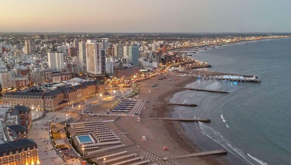 Mar del Plata, destino preferido para ir este verano.