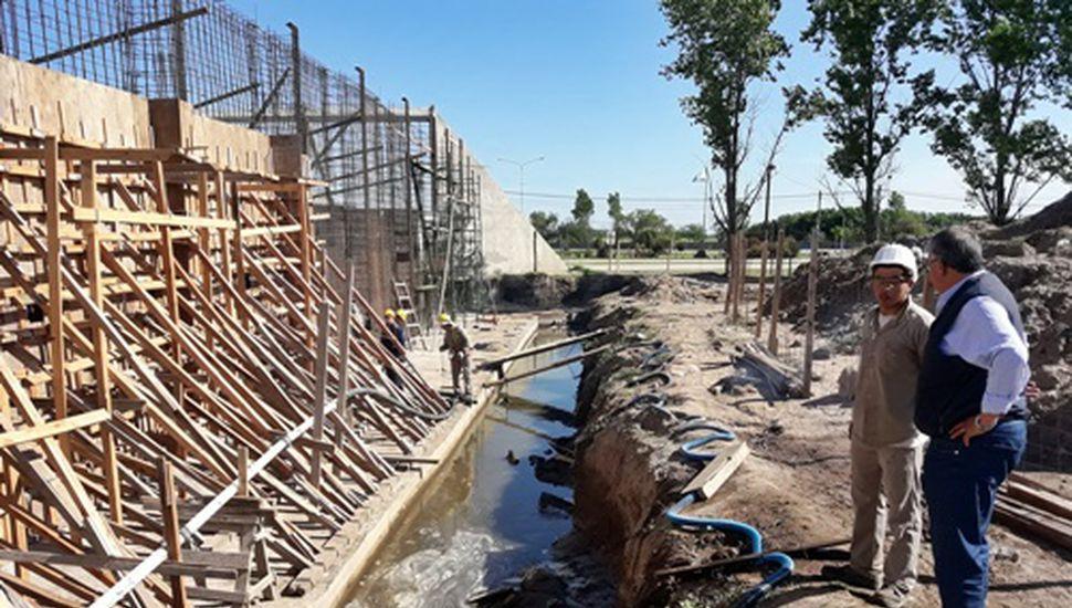 El intendente Gatica recorrió obras en Bragado