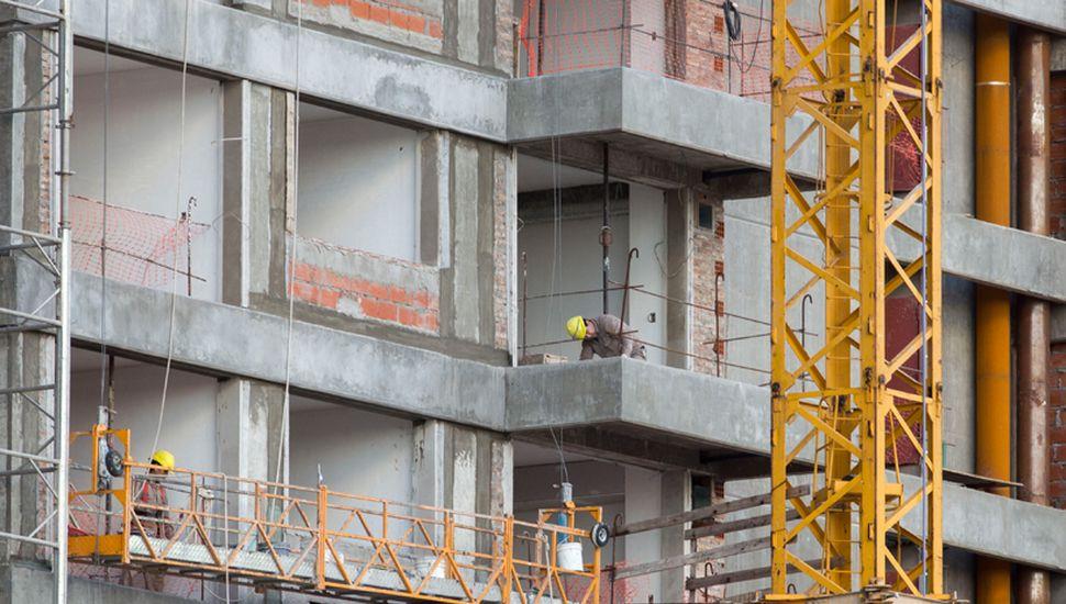 La construcción casi el 8% el año pasado.