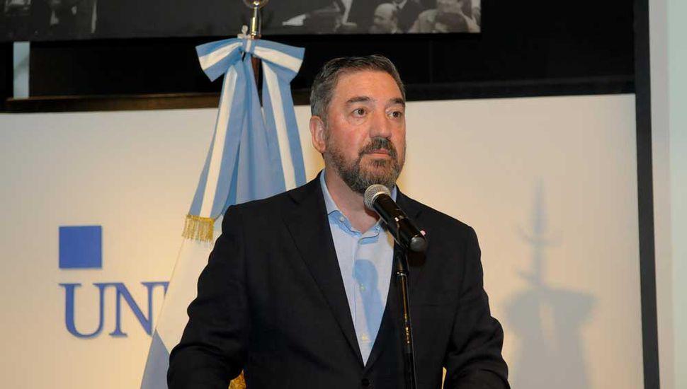 Guillermo Tamarit, rector de la Unnoba, puso el foco en la construcción de una sociedad más igualitaria.