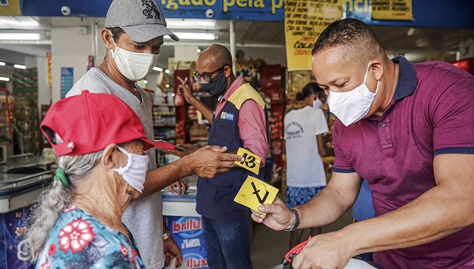 Nuevo repunte de casos de coronavirus en Brasil y Rusia