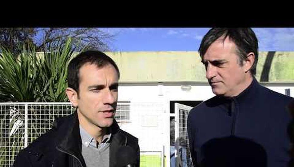Pablo Petrecca y Esteban Bullrich.