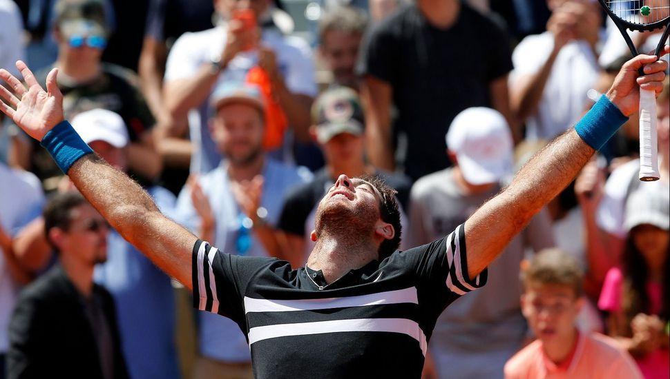 Delpo venció a Cilic y se metió en semis de Roland Garros