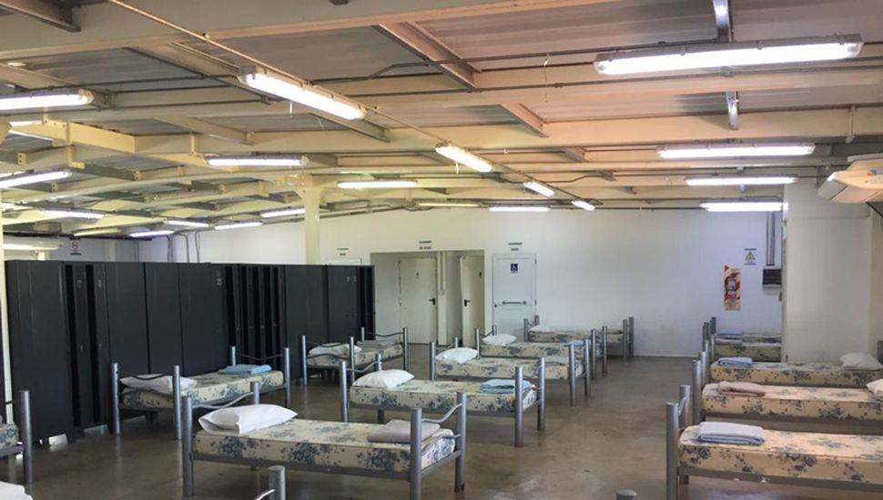 El complejo Pioneer, situado en avenida Libertad y la Ruta Nacional 188, está preparado para alojar pacientes.