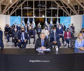 Los gobernadores respaldaron el recorte de fondos a CABA dispuesto por Alberto Fernández.