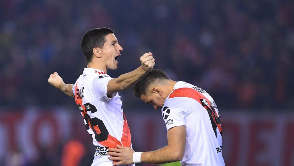 River Plate ganó y tomó una apreciable  ventaja ante Cerro Porteño de Paraguay
