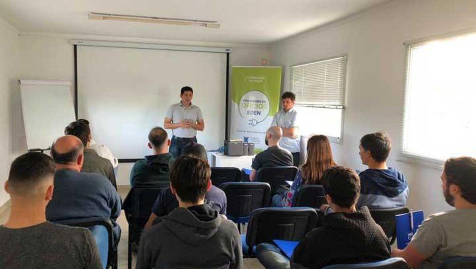 Abrieron la inscripción para la nueva edición del Programa de Oficios EDEN en Bragado