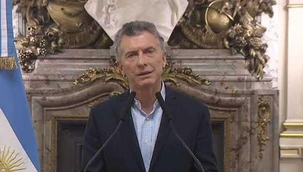 """Macri: """"Destaco el debate histórico en Diputados, digno de la democracia"""""""