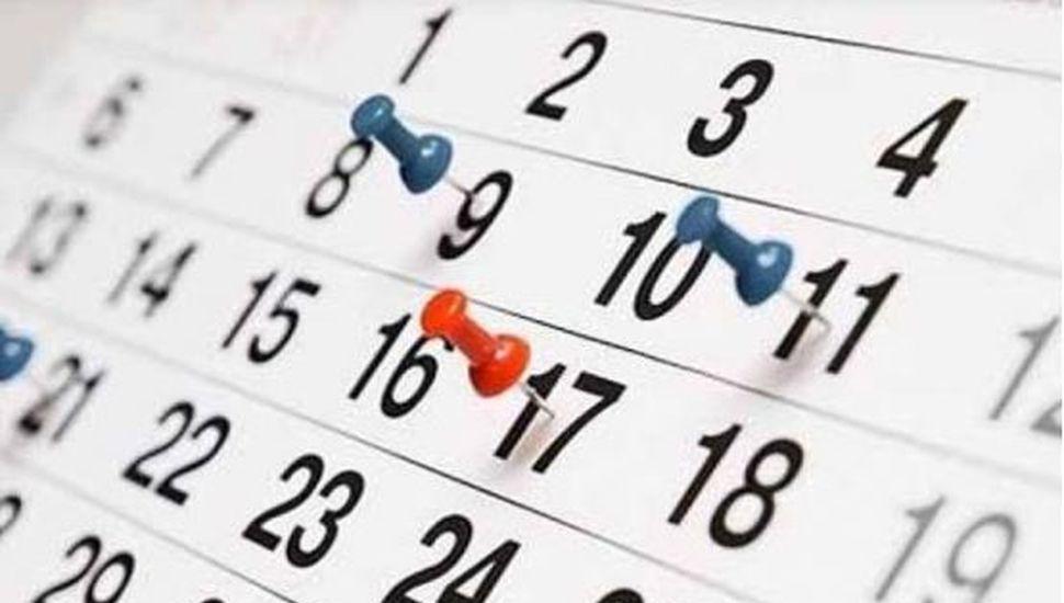 El Gobierno anunció el calendario de feriados puente para 2020