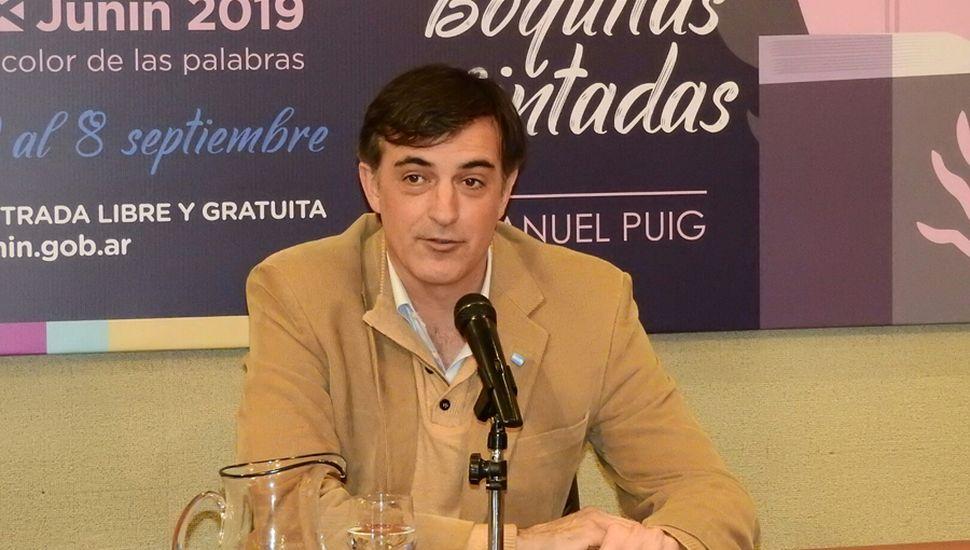 Senador nacional Esteban Bullrich.