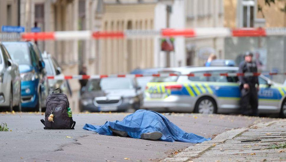 Conmoción en Alemania por un ataque a una sinagoga: dos muertos