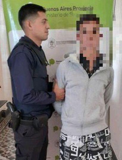 """El joven detenido e imputado por un """"hurto"""", cometido en General Pinto."""