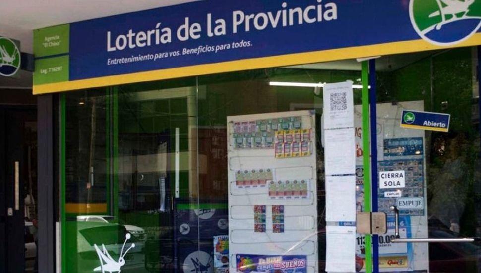 Las agencias de lotería volverán a funcionar.
