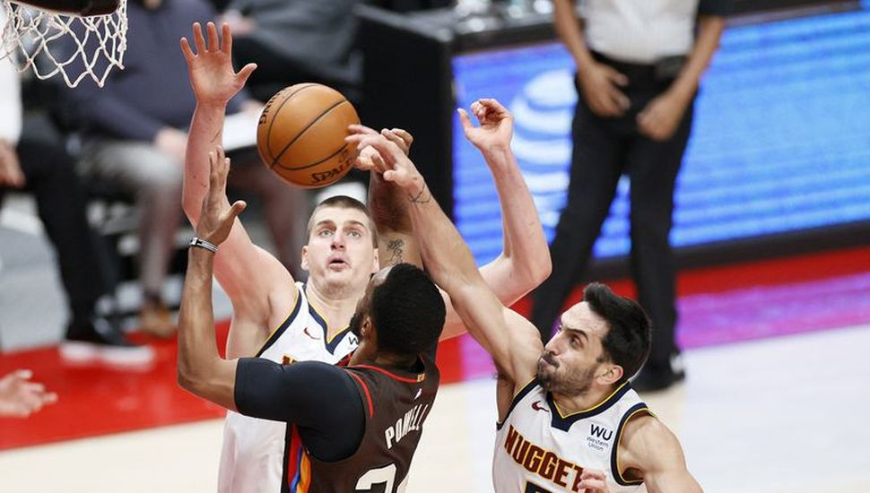 Denver Nuggets derrotaron a Portland