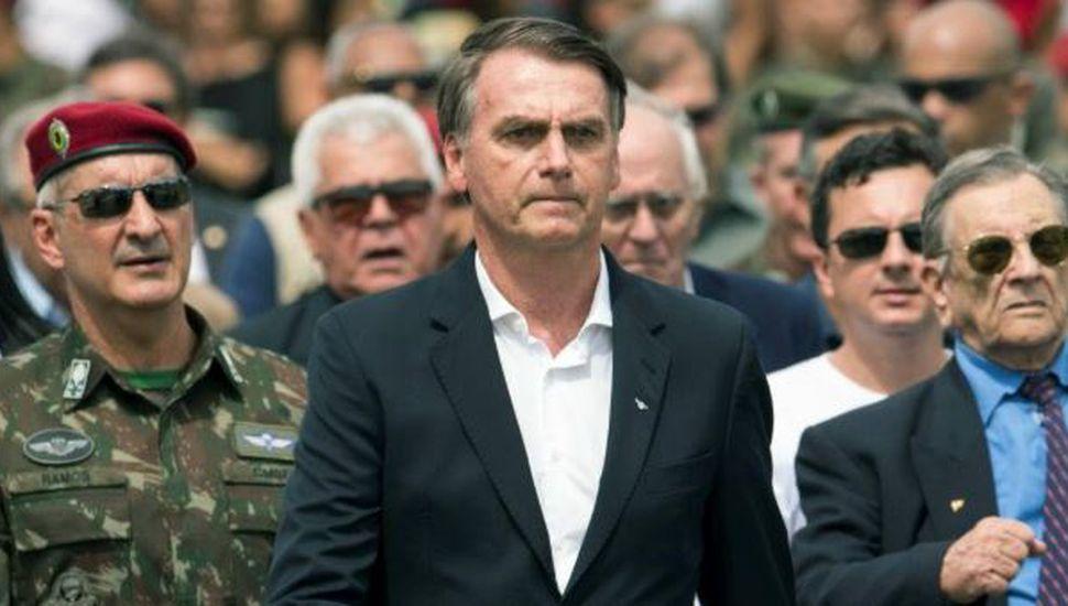 Jair Bolsonaro habló sobre la detención por corrupción de Michel Temer