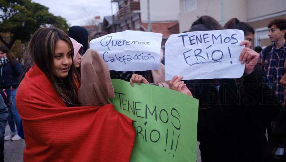 "Esta semana, en Mar del Plata se realizó un ""frazadazo""."