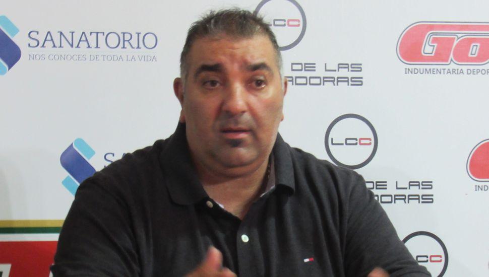 Miguel Had, presidente del Ciclista Juninense.