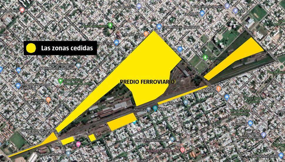 El Intendente aseguró que el traspaso de los  terrenos ferroviarios no afecta a la Coottaj