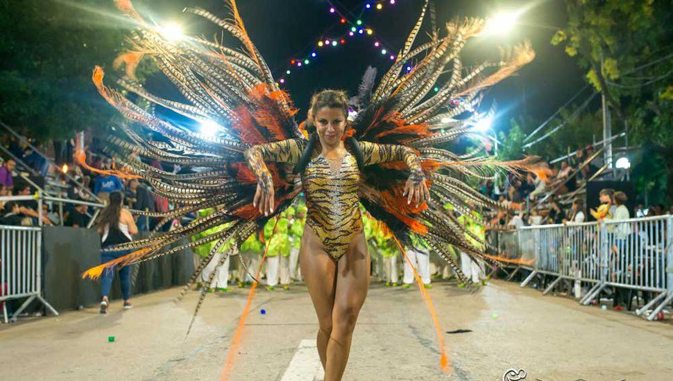 Noches de carnaval con todo el esplendor.