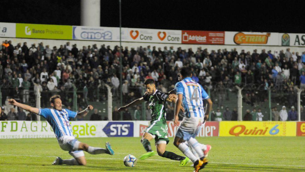 Patricio Vidal, el delantero volverá a la titularidad en el partido de esta noche.
