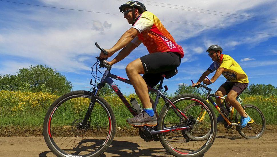 El domingo se realizará una competencia de Rural Bike