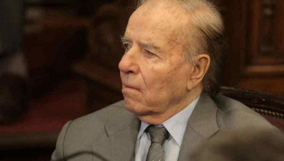 Investigan el patrimonio de Carlos Saúl Menem