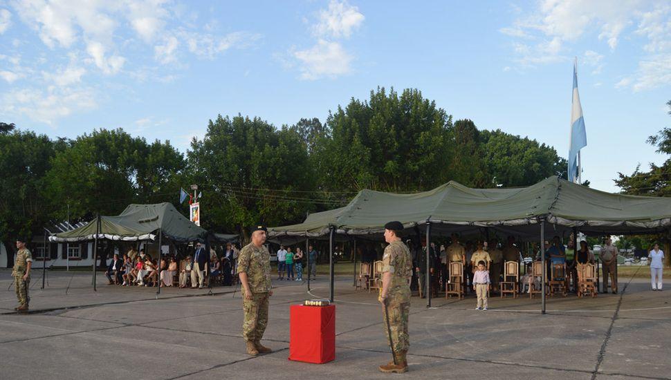 Se realizó en la Plaza de Armas de la Guarnición de Ejército Junín.