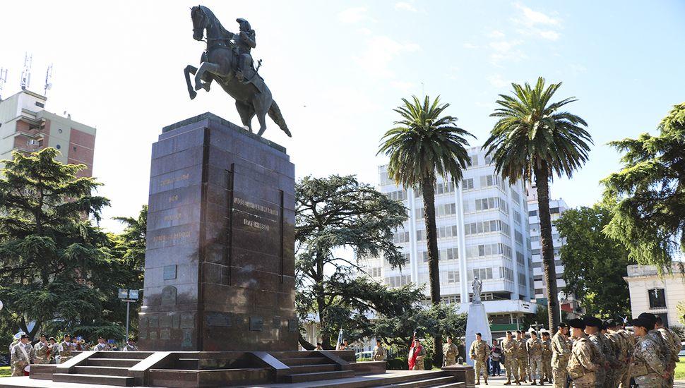 Acto en Junín por el 241°  aniversario del nacimiento de San Martín