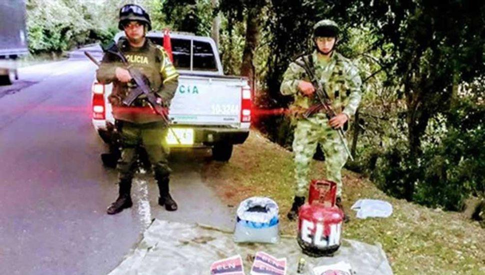 Frustran en Colombia un atentado terrorista de la guerrilla del ELN