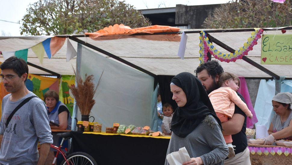 Feria y muestra gastronómica de origen árabe.