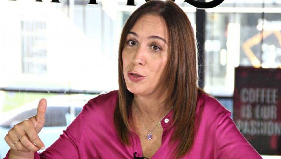 María Eugenia Vidal sabe que hoy las encuestas la muestran entre 5 y 6 puntos por detrás del candidato del peronismo, Axel Kicillof.
