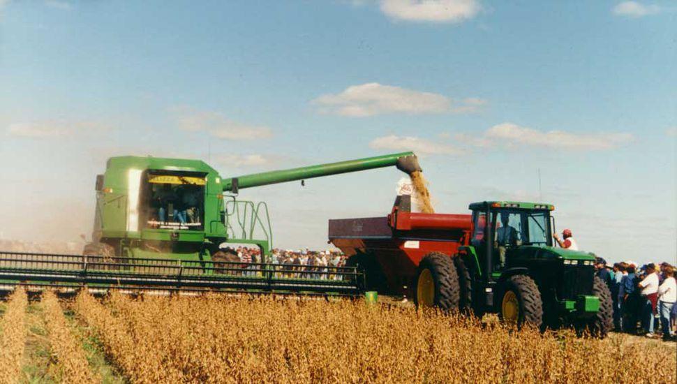 La soja es el principal cultivo de la región: representa el 74% de la superficie sembrada y el 52% de la producción.