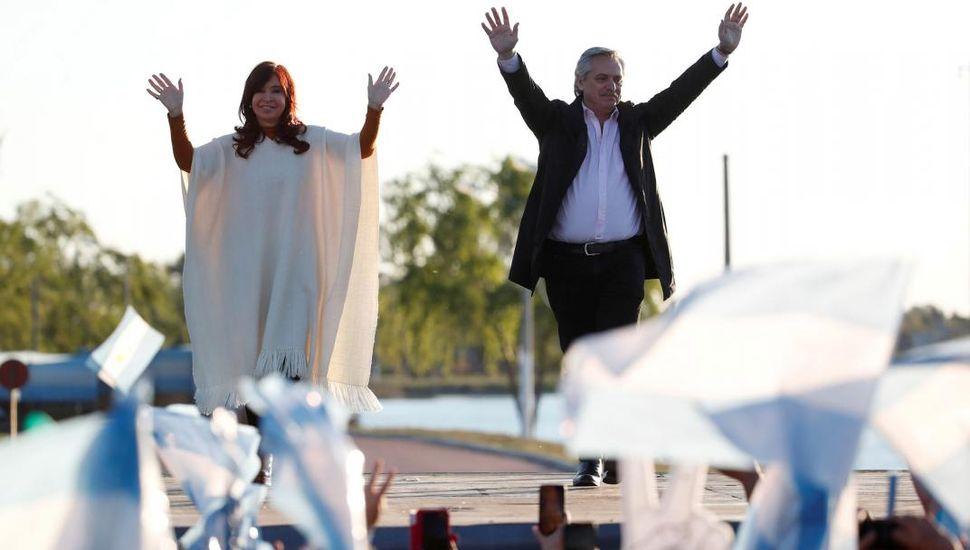"""""""Cristina y yo somos lo mismo"""", dijo Alberto Fernández"""