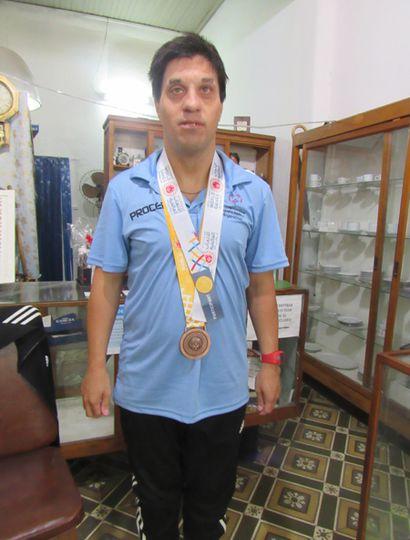 """Hernán Saccani: """"El gran campeón"""""""