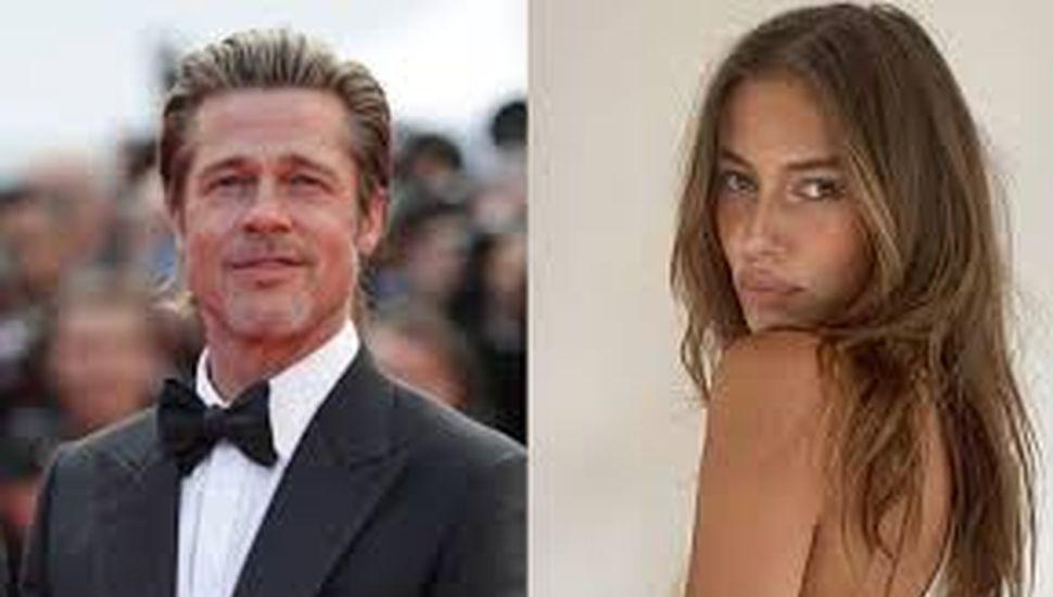 Brad Pitt y Nicole Poturalski llevan mucho tiempo juntos
