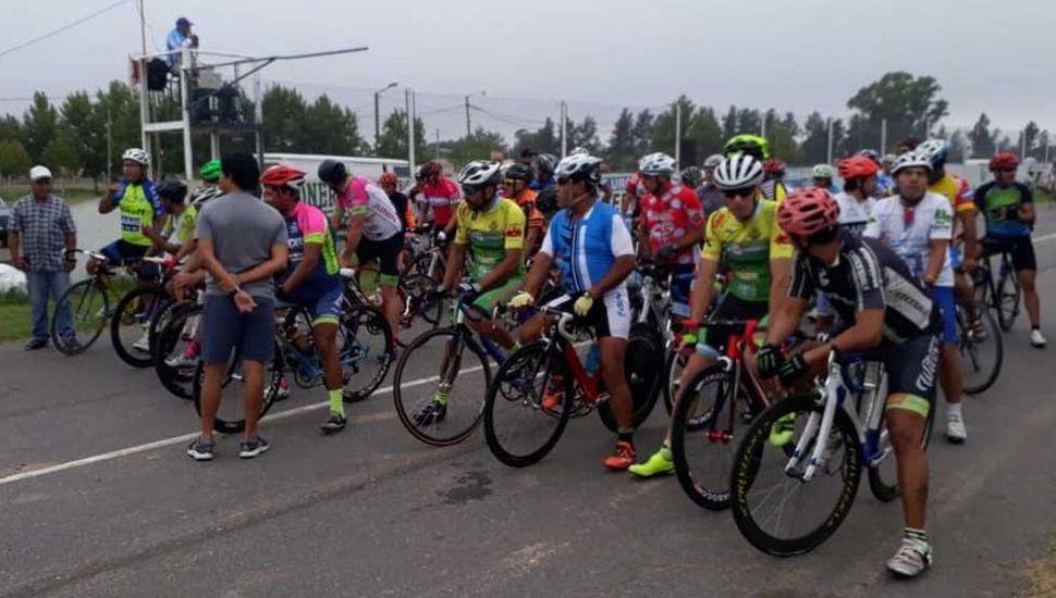 Buen número de pedalistas tomó parte del programa realizado el fin de semana pasado.