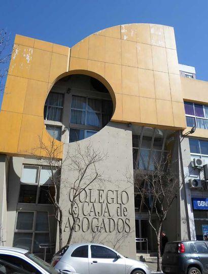 Frente del Colegio de Abogados de Junín.