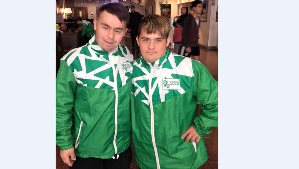 Sebastián Britos y Claudio Senfeld fueron convocados a la Selección Argentina de Futbol con Sindrome de Down