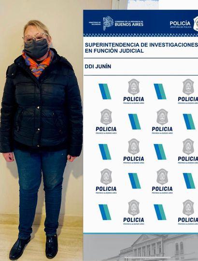 """Reincidente: volvieron a detener en Junín a la falsa psiquiatra por """"ejercicio ilegal de la medicina"""""""