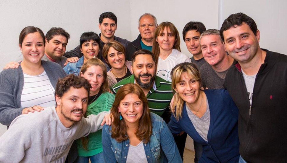 Integrantes de la lista local del Frente de Todos.
