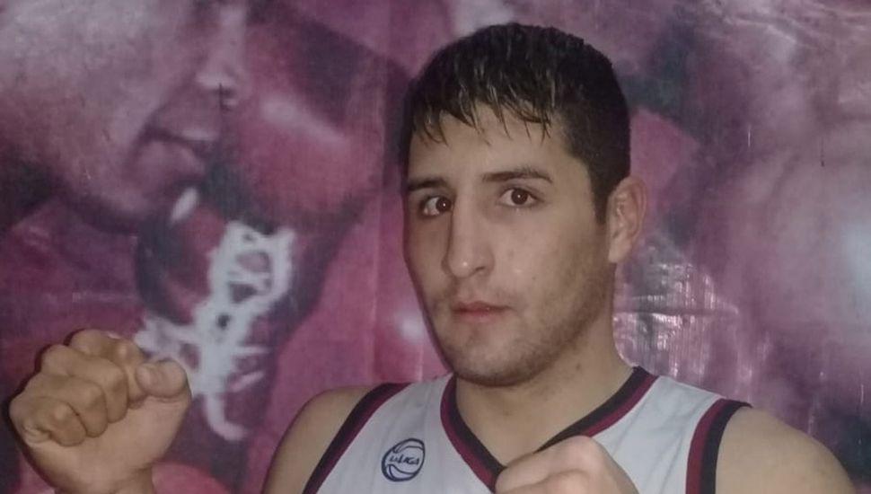 El pesado juninense Lucas García combatirá hoy en las finales del año de la Liga de Campeones del Oeste, en Rafael Castillo (Buenos Aires).