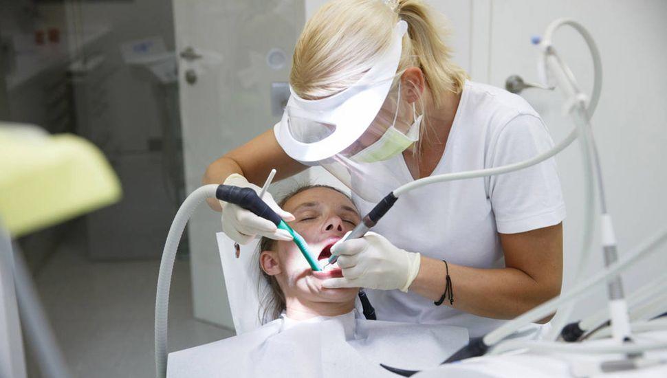 Uno de los equipos de protección para odontólogos.