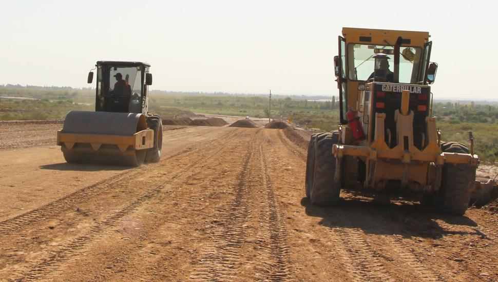 Avanzan las obras en el Corredor Vial C bajo el sistema PPP, entre Junín y Mendoza