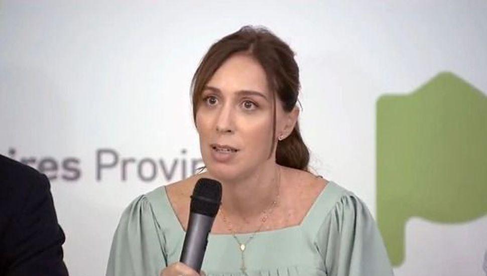 Vidal anunció una baja de impuestos en luz, gas y agua