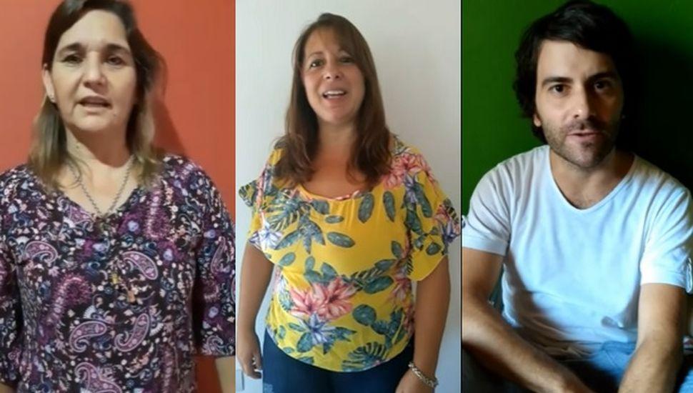 El conmovedor video motivacional que armaron docentes de Iriarte