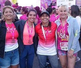 Patricia Ponce, Ángeles Fernández, Noelia Cuello y Olga Alonso.